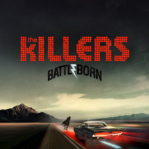 Capa do CD Battle Born (2012)