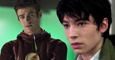 Ezra Miller e Grant Gustin - The Flash