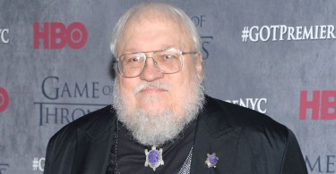 "George R. R. Martin arrives at New York Premiere of ""Game of Thrones"" Fourth Season on Tuesday, March 18, 2014, in New York. (Photo by Evan Agostini/Invision/AP)"