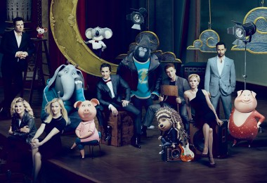 Sing (2016) Seth McFarlane, Tori Kelly, Reese Witherspoon, Matthew McConaughey, Taron Egerton, Scarlett Johansson, and Nick Kroll  (will color correct when routed)