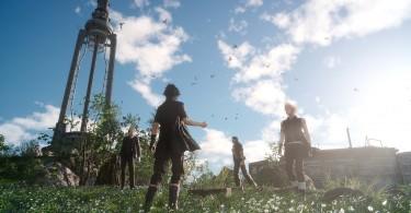 Torre de Vigilancia Capa Final-Fantasy-XV