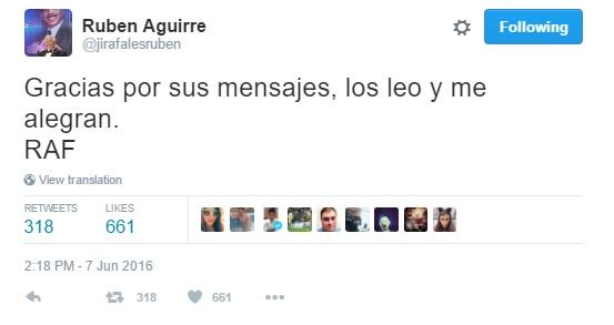 Ruben Aguirre - 07 de junho