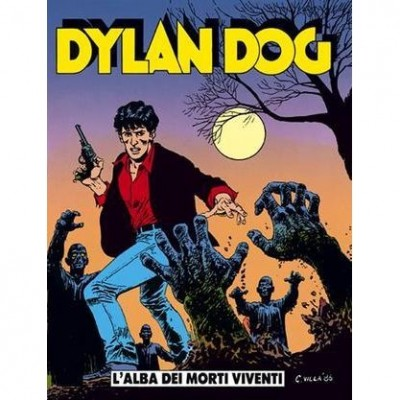 Capa do original italiano do primeiro número de Dylan Dog.