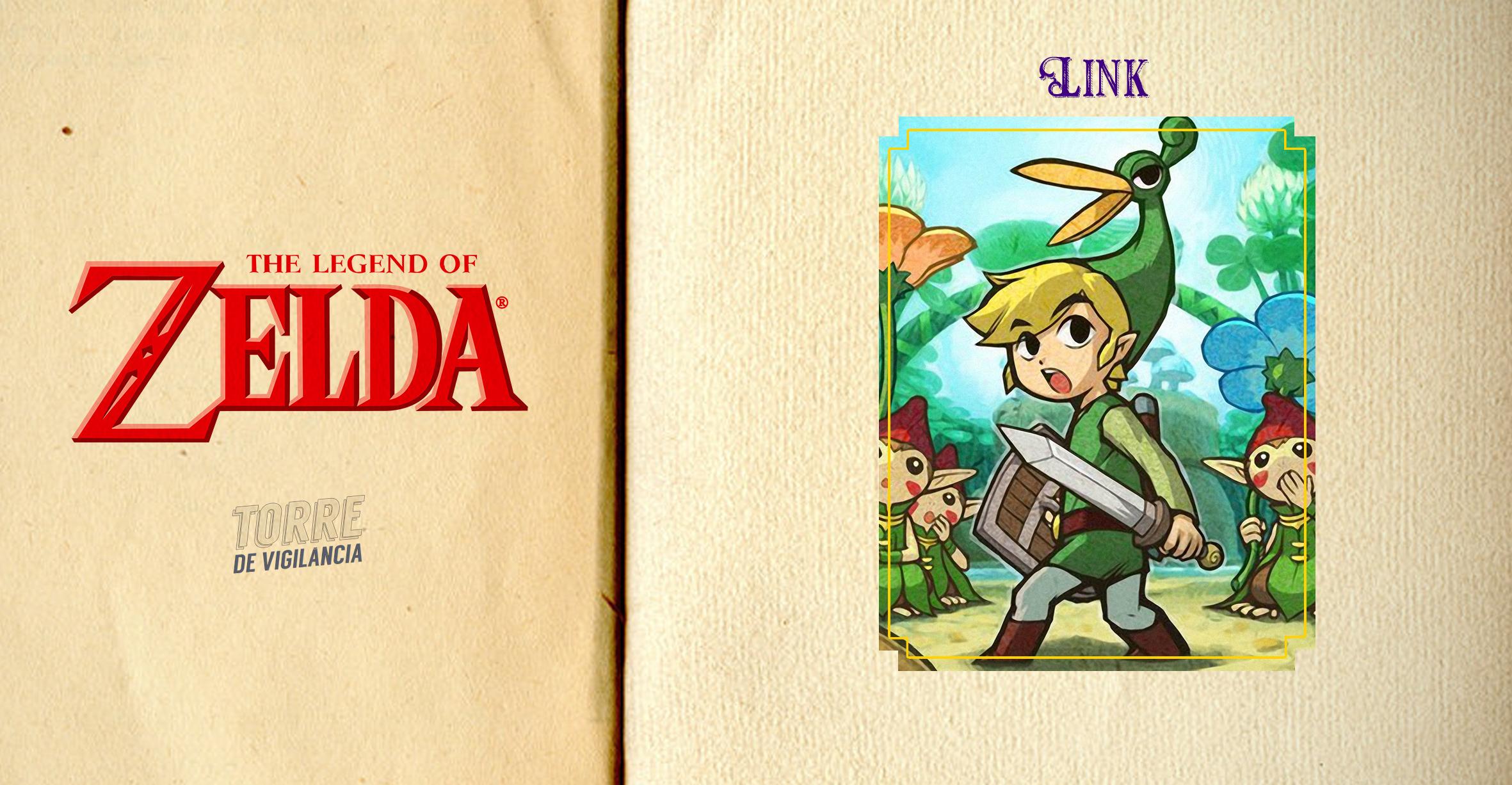 """Imagem ilustrada com sua participação em """"The legend of Zelda: The Minish Cap"""""""