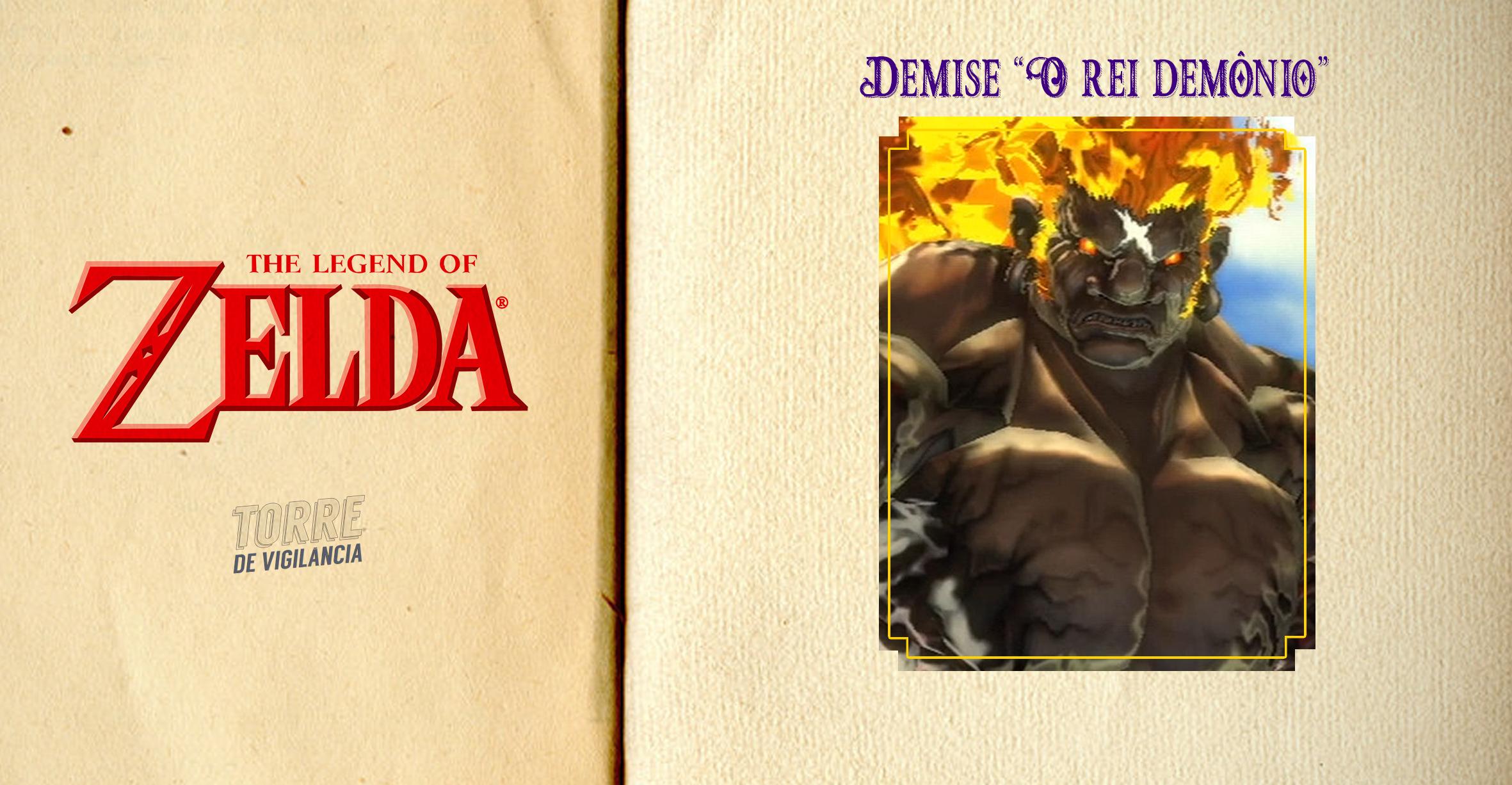 """Imagem ilustrada com sua participação em """"The Legend Of Zelda: Skyward Sword"""""""