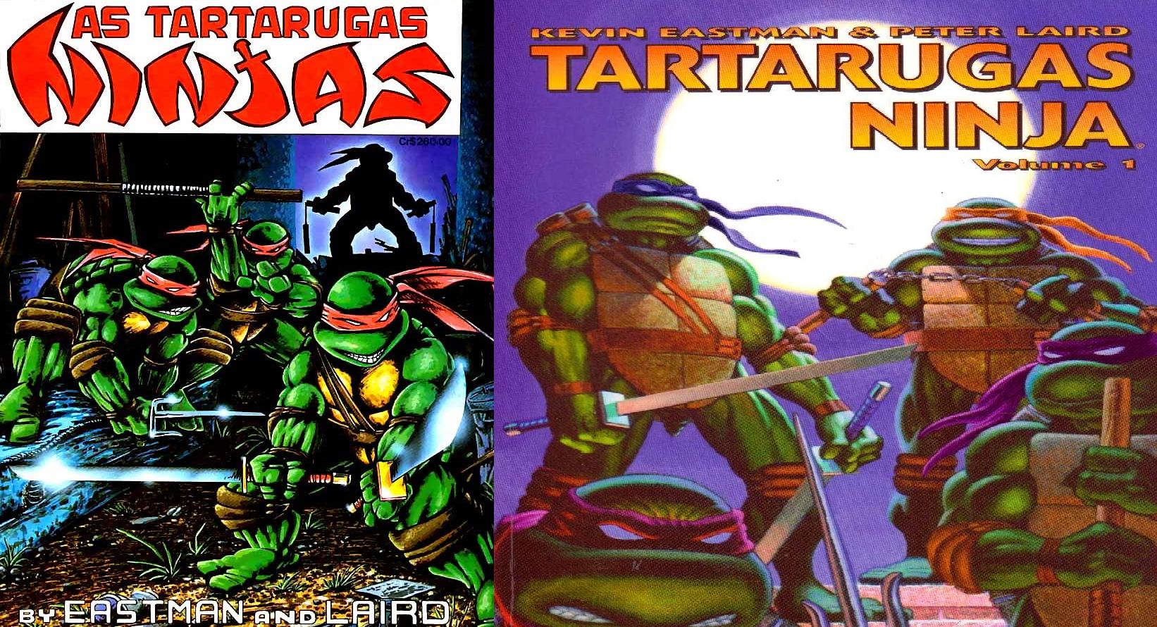 Cowabunga A Trajetoria Das Tartarugas Ninja Nos Quadrinhos