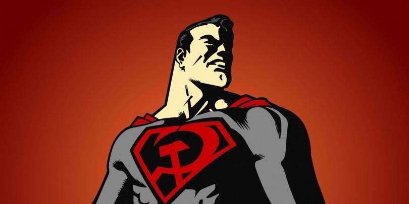 """Resultado de imagem para """"Entre a Foice e o Martelo"""", do Superman"""