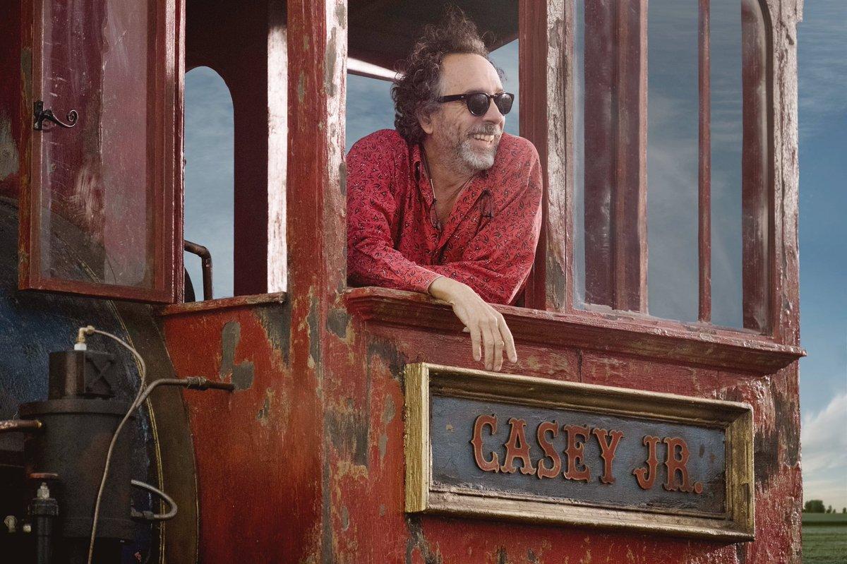 'Dumbo' de Tim Burton ganha data de estreia e primeira imagem