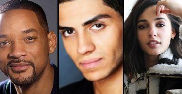 Os três atores foram confirmados para a versão live-action.