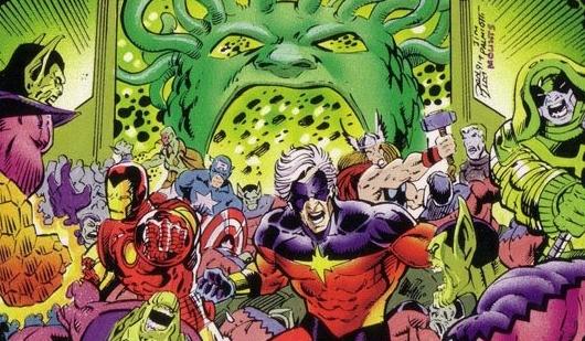 Comic-Con 2017 | Capitã Marvel enfrentará os Skrulls nos anos 90