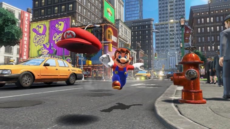 Super Mario Odyssey traz Mario como dançarino em um musical