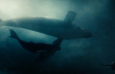 Aquaman salvou Clark Kent.