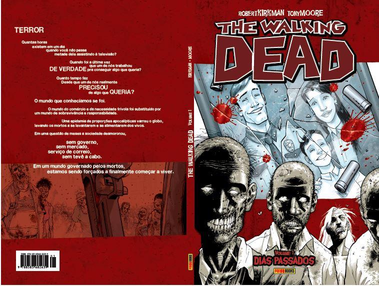 Quadrinhos de The Walking Dead serão relançados pela Panini