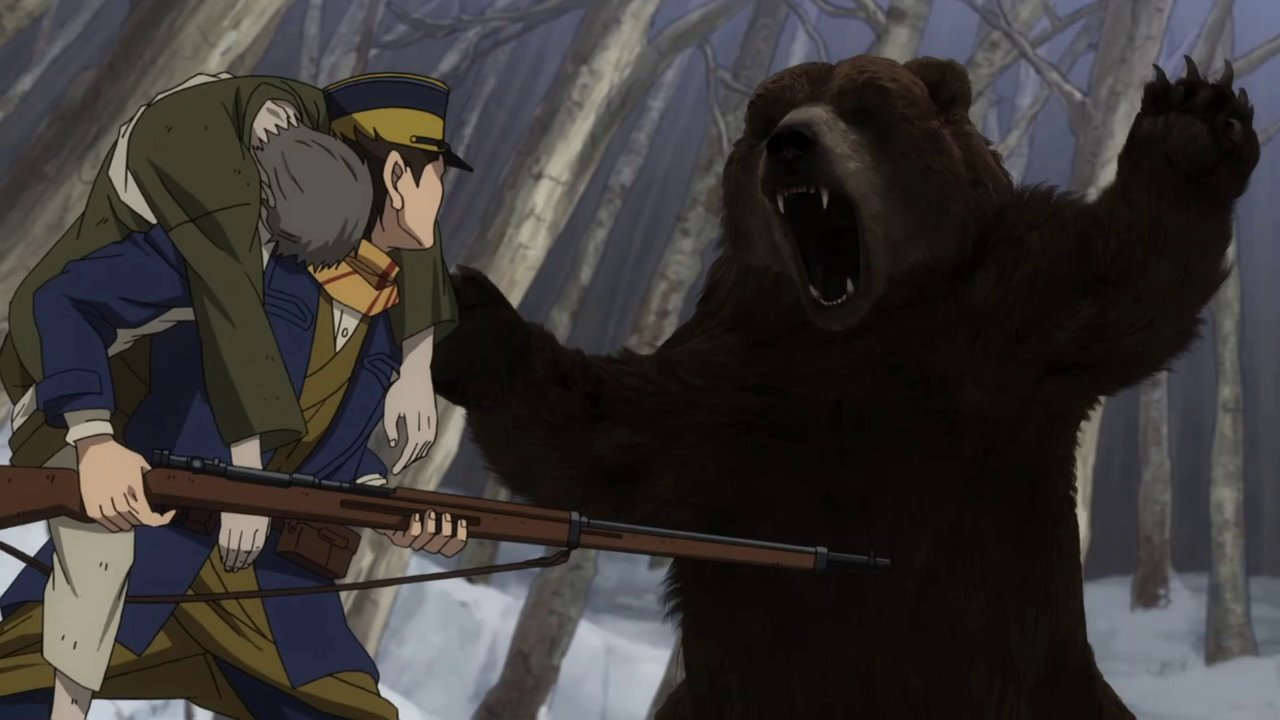 Golden Kamuy - Best CGI Bear