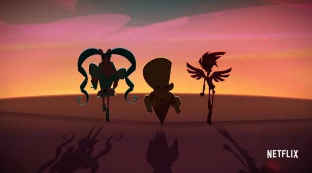 A animação contará a história de três amigos que se transformam em drags à noite.