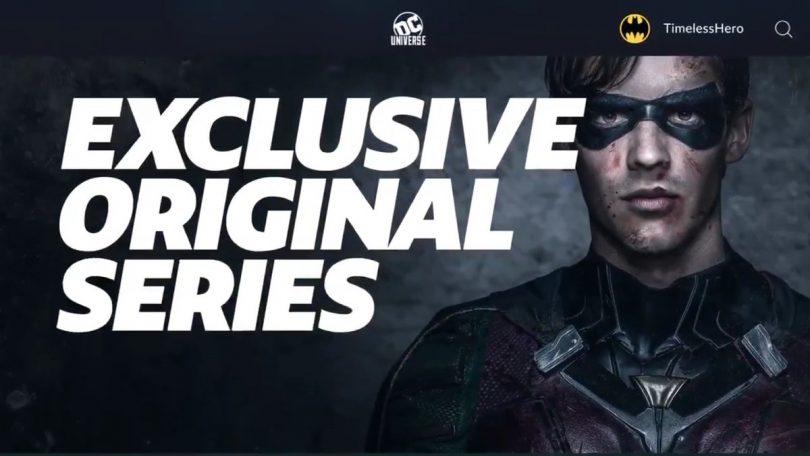 Resultado de imagem para DC Universe: tudo o que sabemos sobre o serviço de streaming