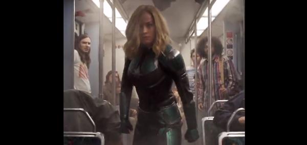 Capitã Marvel será lançado em março.