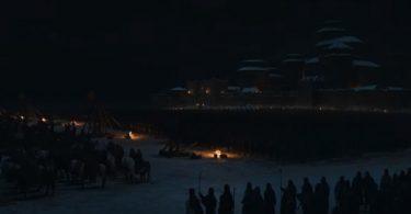 Winterfell se prepara para a batalha.