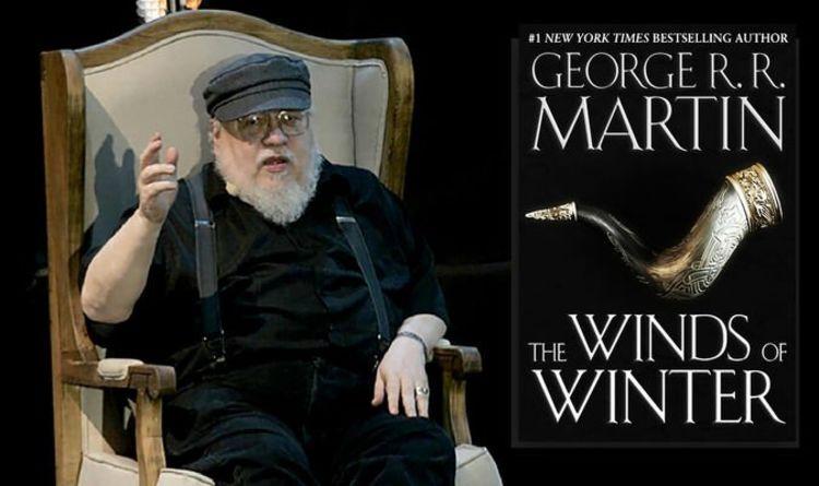 Martin ainda não terminou os livros.