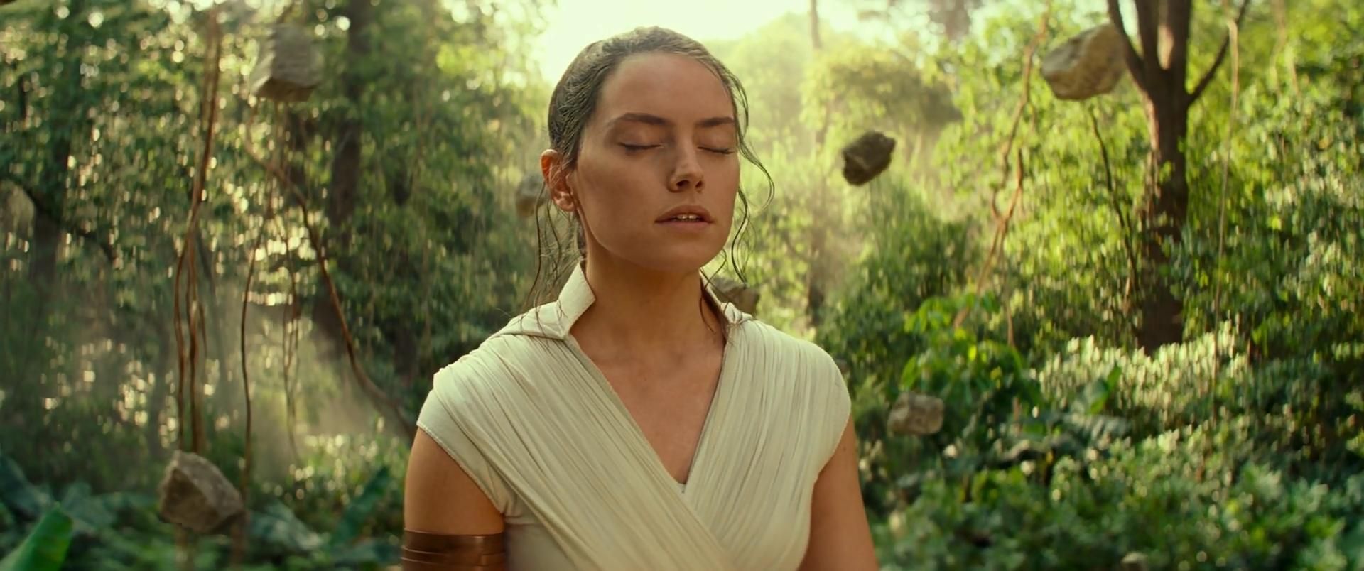 """""""Correção, Luke. É sobre levitar pedras."""""""
