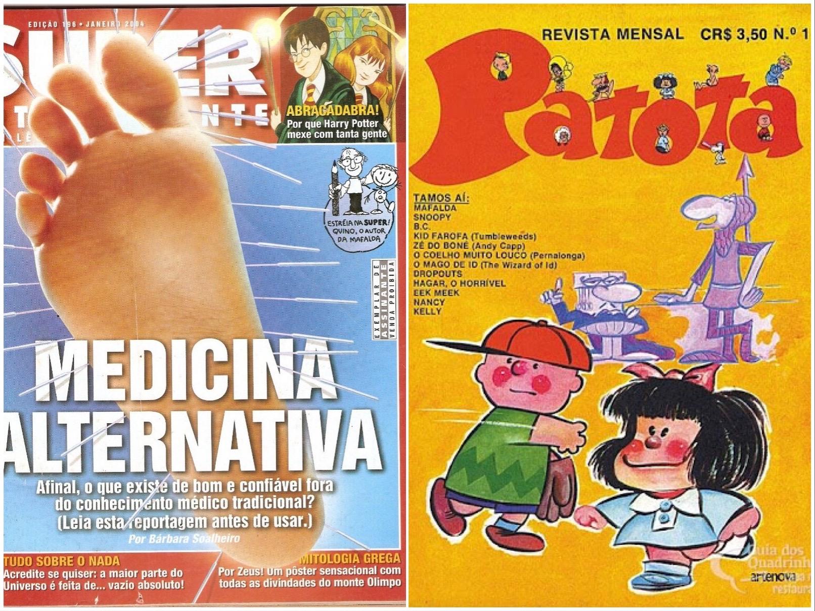IMAGENS: Mercadolivre.combr e uiadosquadrinhos.com